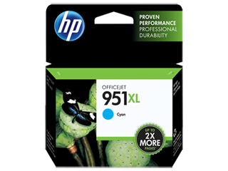 HP Ink cartridge XL cyan
