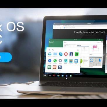 Nyt operativsystem. Remix