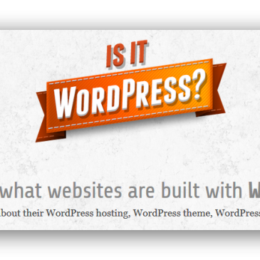 Er denne side lavet med WordPress