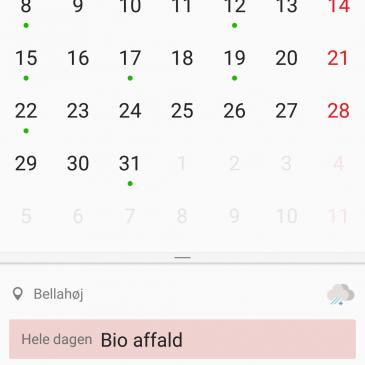 Synkronisering af kalender og kontakter