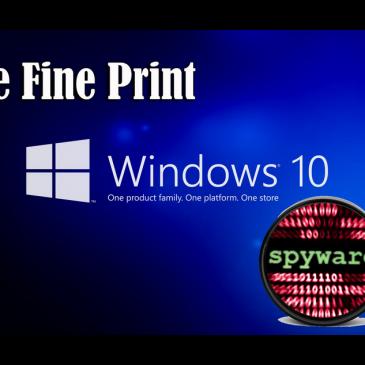 Windows 10 indsamler informationer om dig og bruger dit net