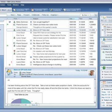 IBM sælger Lotus Notes
