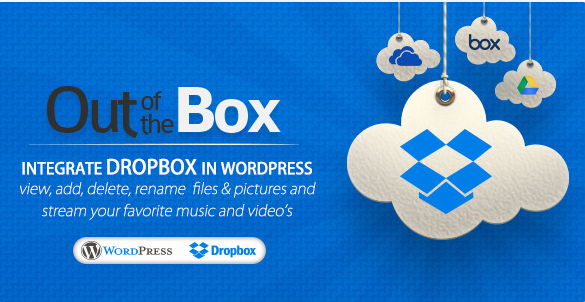 Dropbox og WordPress