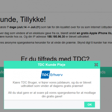 """""""TDC"""" phishing"""