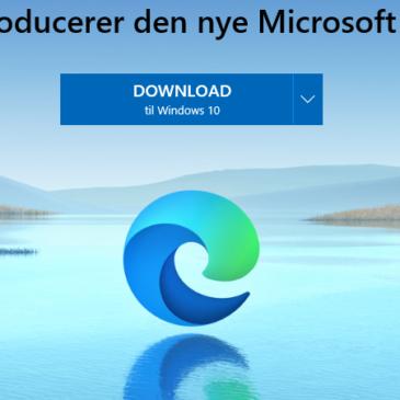Ny Microsoft browser