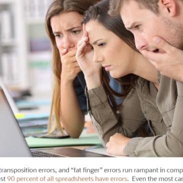 Excel ekstra: Fejl, der når overskrifterne