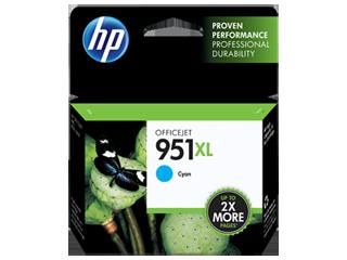 HP Ink cartridge XL cyan