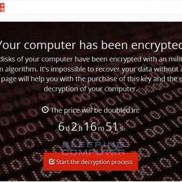 Pas på! Mange ransomware angreb!