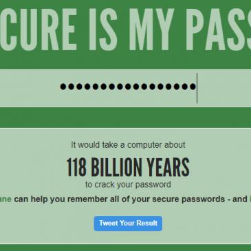 Godt password?