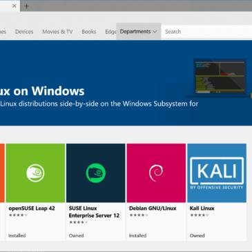 Linux på Windows