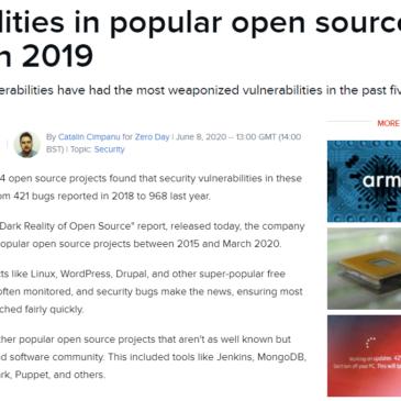 Sårbarheder i OpenSource systemer